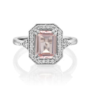 Katerina Ring With Morganite