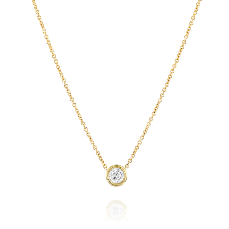 Margarita Necklace White Diamond