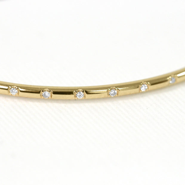 gold thin bangle