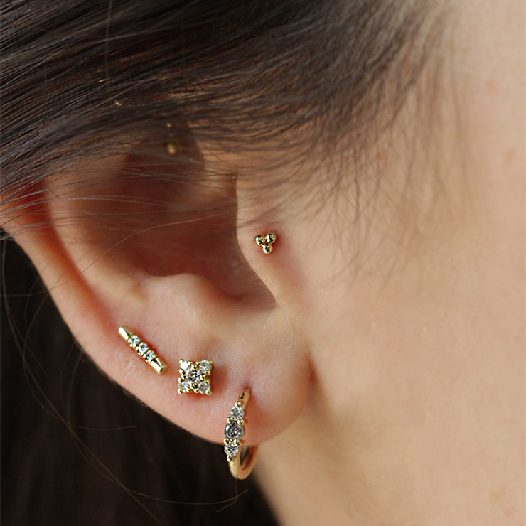 Dotty Piercing Earring (Single)
