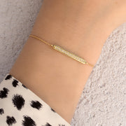 yellow gold florence bracelet