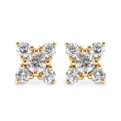 Chess collection diamond earrings