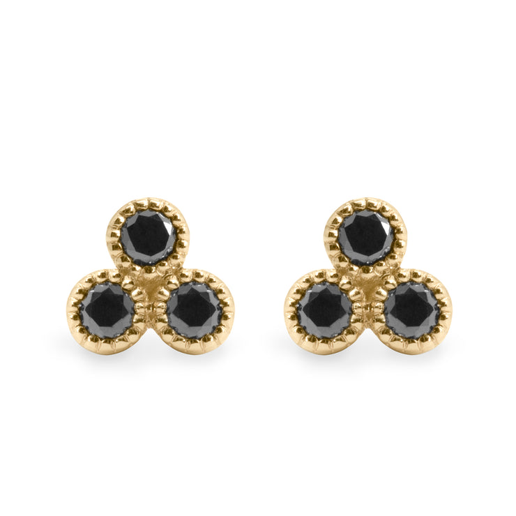 Henrietta Black Diamonds Earrings