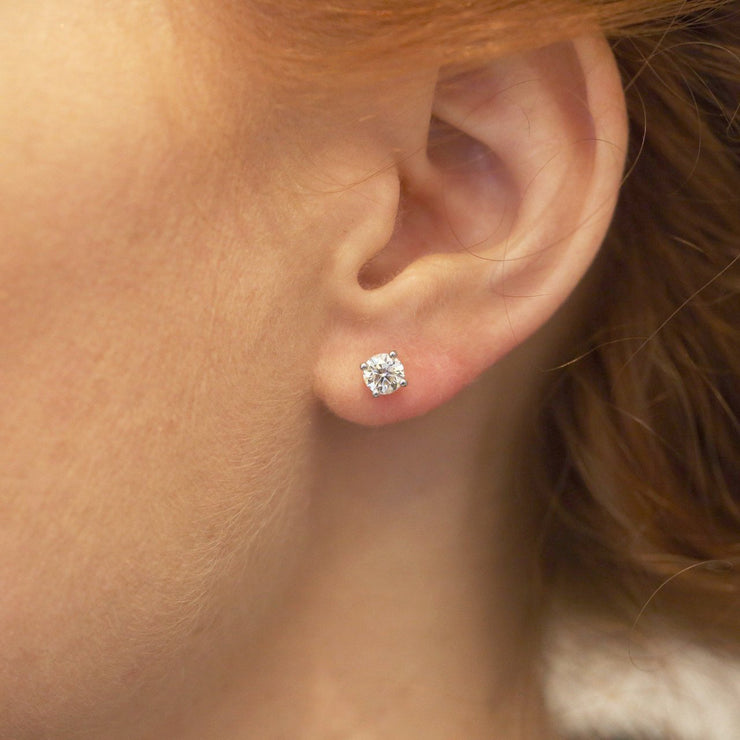stud earrings with diamonds martina
