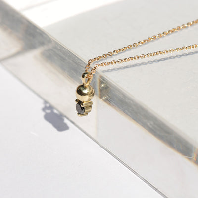 black diamond necklace marie