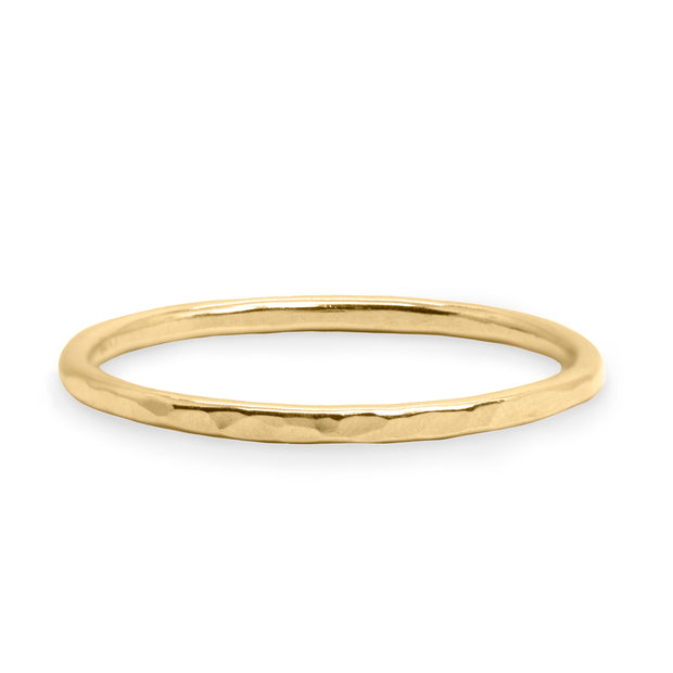 classic wedding band gold