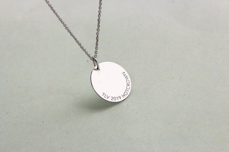 silver eurovision necklace
