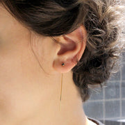 Noni Black Diamond Earring (single)
