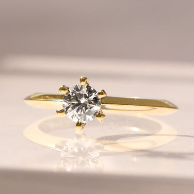 Gina Gold Ring 4.5mm