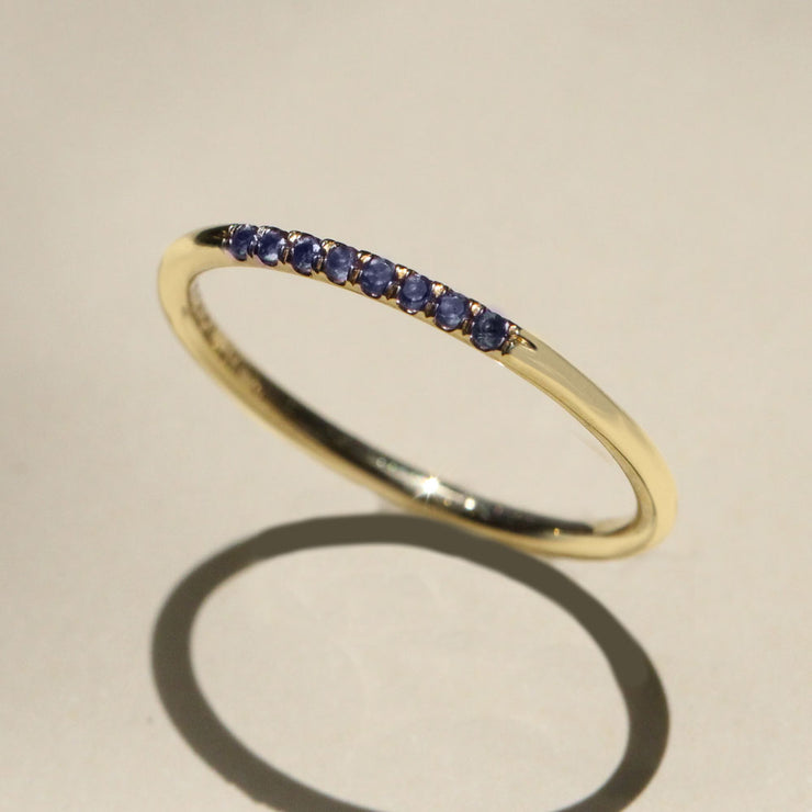 Kelly Ring with Sapphire