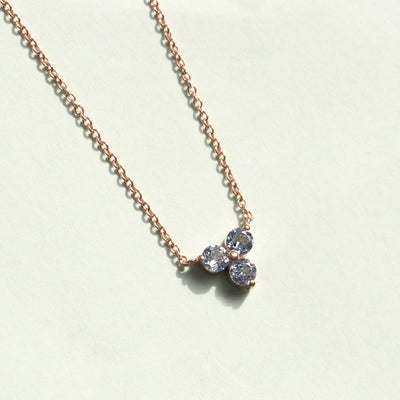 Grace Aquamarine Necklace