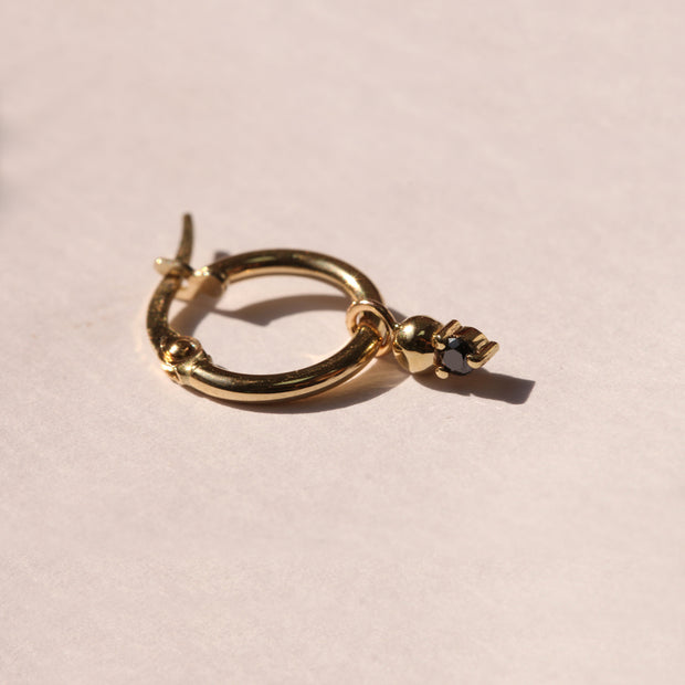 Hoop + Marie gold earrings (Single)