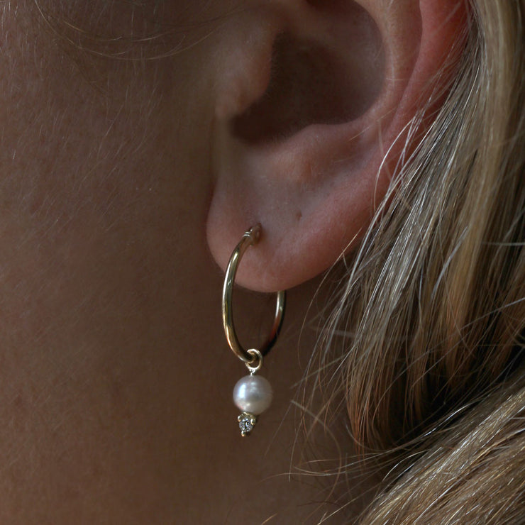 Hoop+ Scarlett Gold Earrings