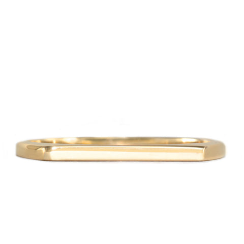 Miranda Clean Gold Ring