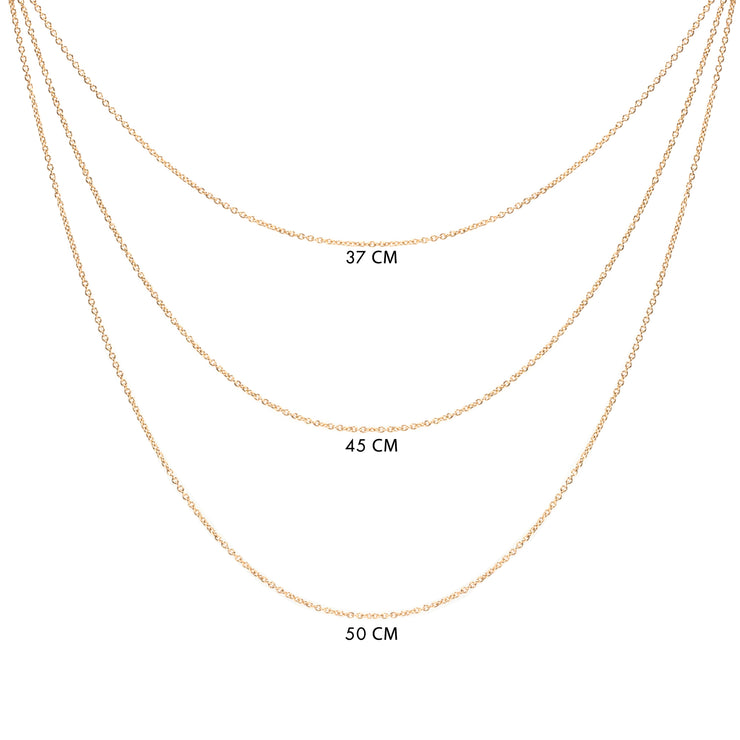 Choose necklace size