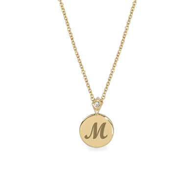 Coin Necklace + Engraving