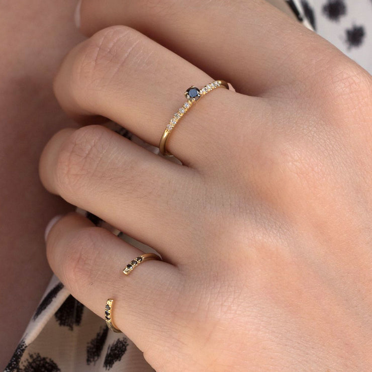 delicate open ring