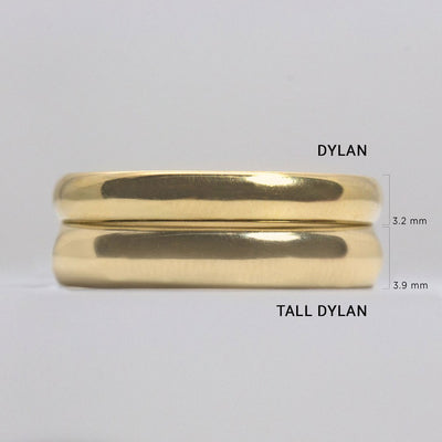 Tall Dylan Gold Ring