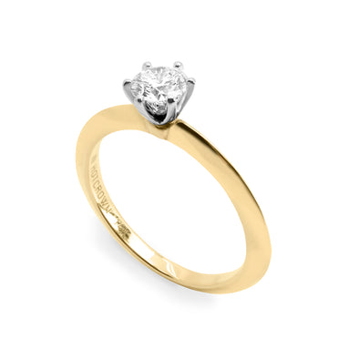 Gina Gold Ring 5 mm