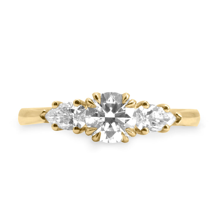 emma ring with white diamonds