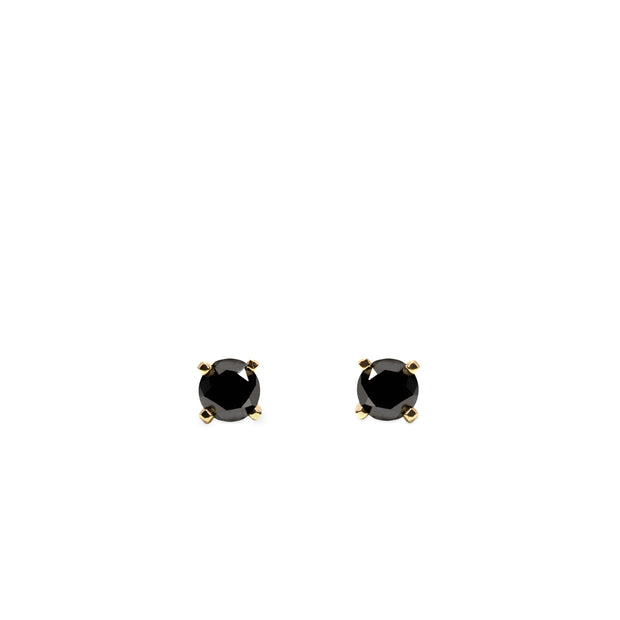 black diamond stud earrings martina