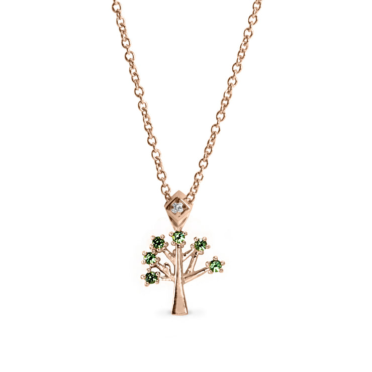 tree of life lucky charm necklace