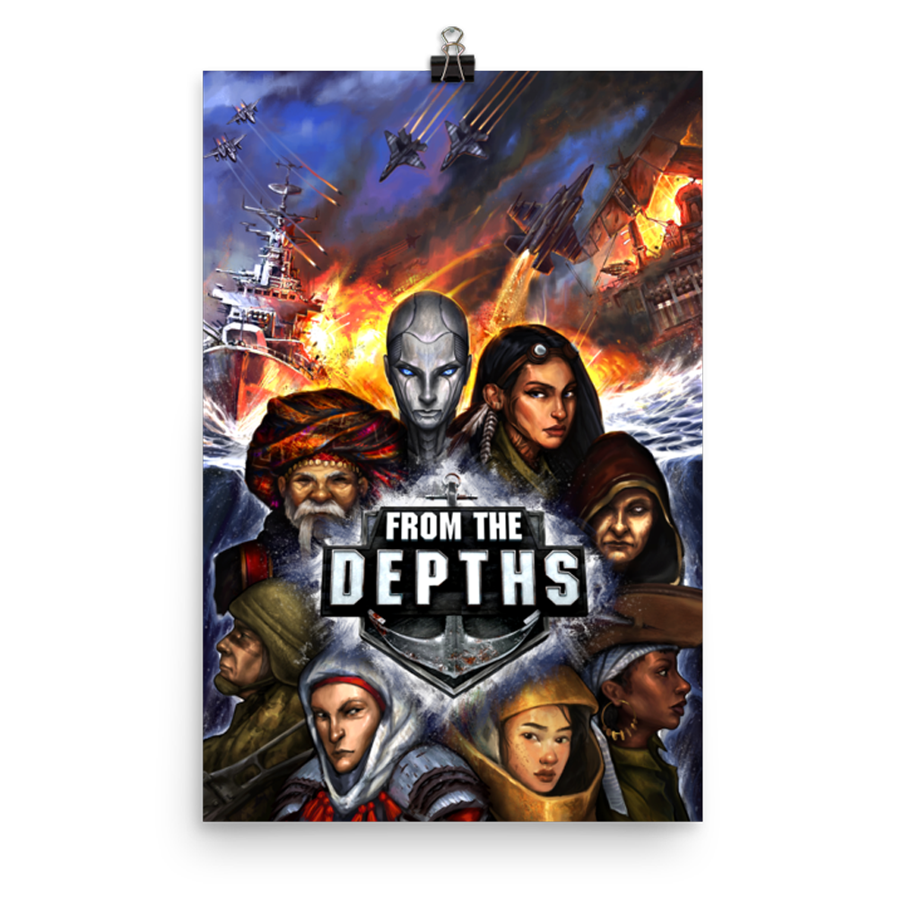 From the Depths Poster