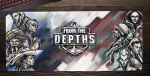 From The Depths Desk Mat