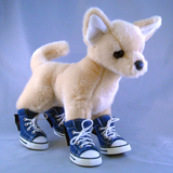 Denim Booties - Howling Dog Alaska