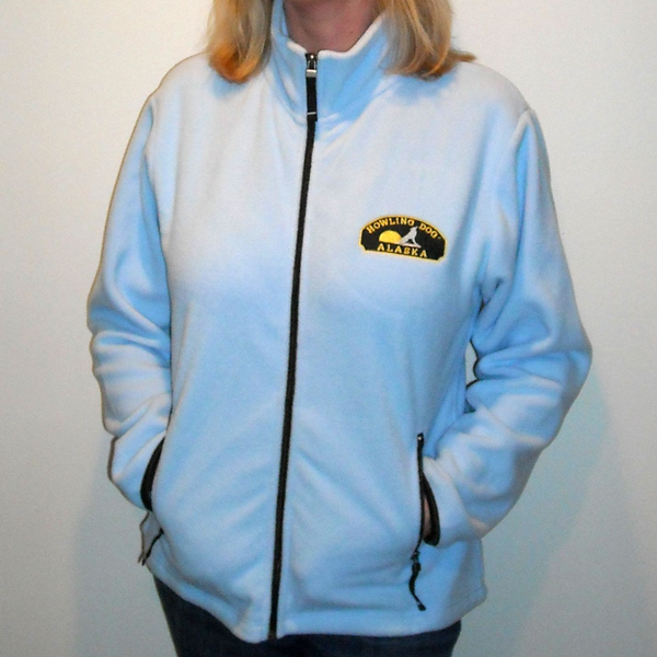 Ladies Fleece Jacket - Howling Dog Alaska