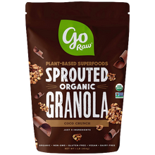 Load image into Gallery viewer, GO RAW, ORGANIC SPROUTED GRANOLA, COCO CRUNCH (454g)