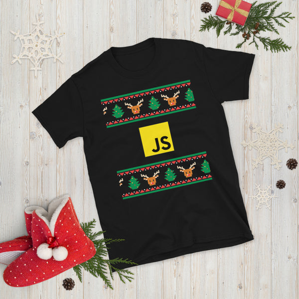Christmas Pattern JS T-Shirt