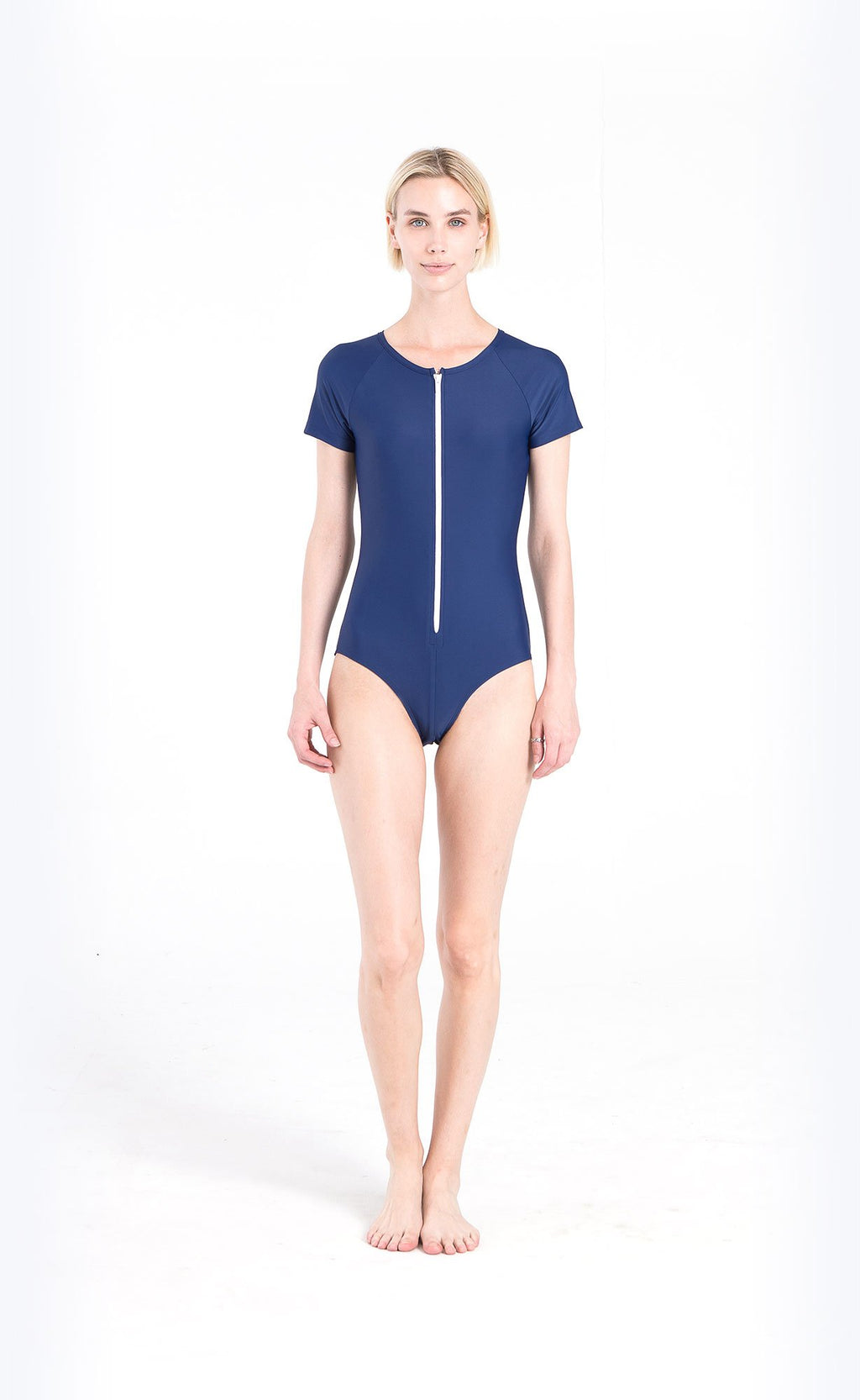 Short-Sleeved Swimsuit - Cover Swim