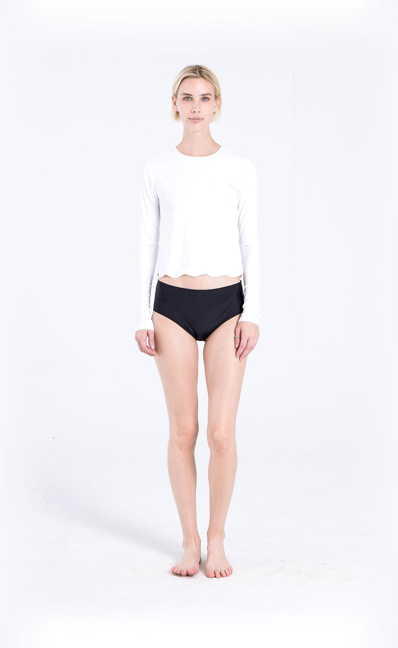 Scallop Cut Swim T-Shirt - Cover Swim