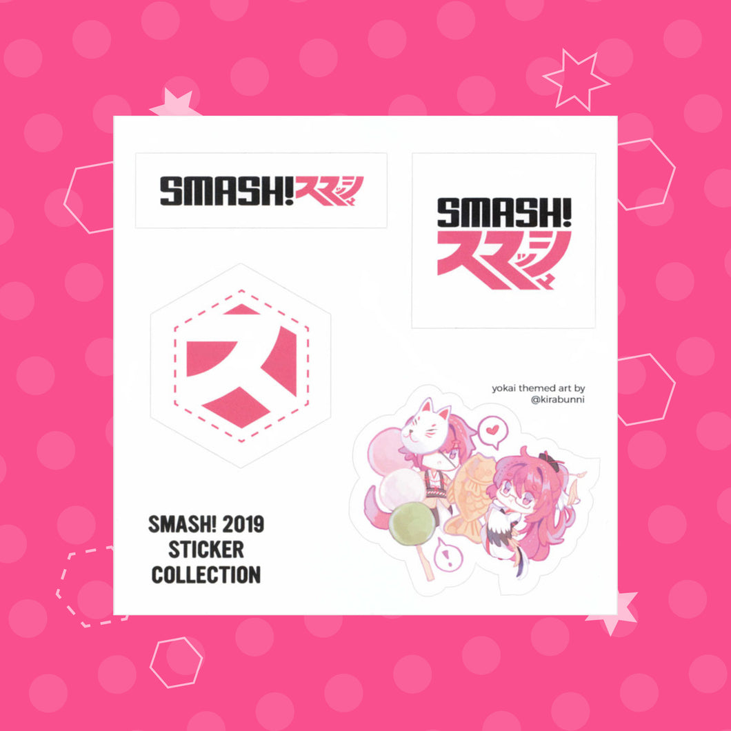 SMASH! Youkai-theme - Sticker Pack
