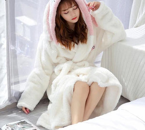 Velvet Bathrobe for Women