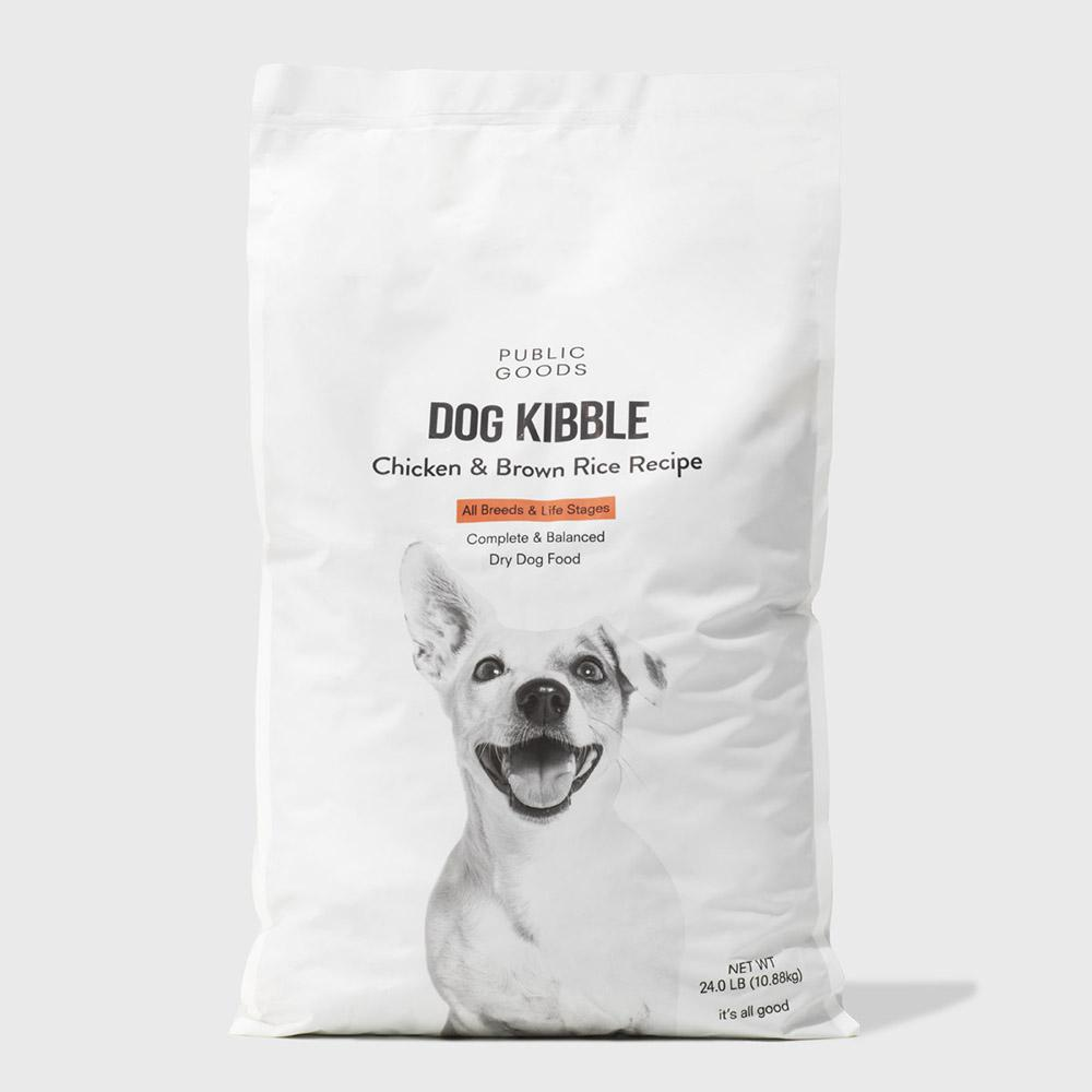 Public Goods Pet Dog Kibble - 24 lb (Case of 50)