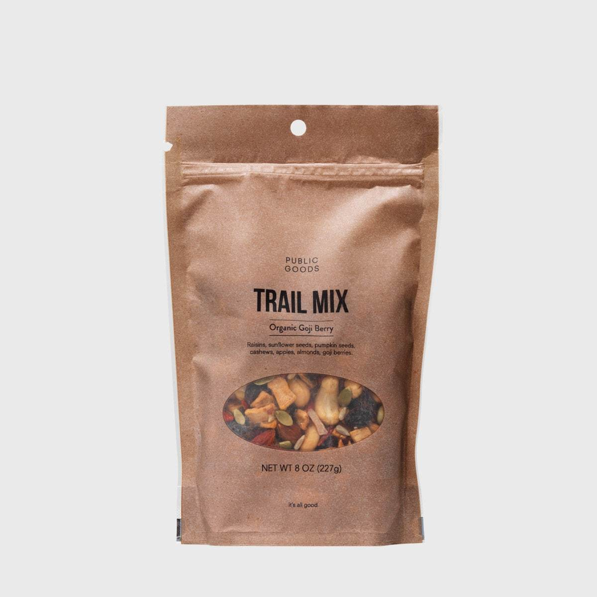 Public Goods Grocery Goji Berry Trail Mix