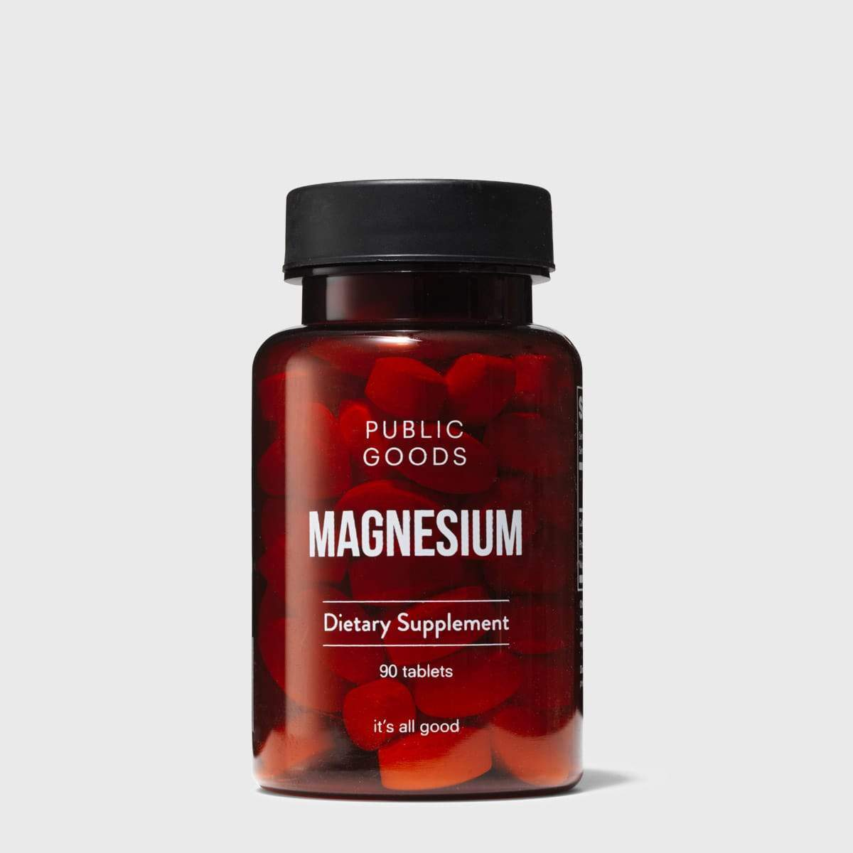 Public Goods Supplement Magnesium 90 ct (Case of 24)