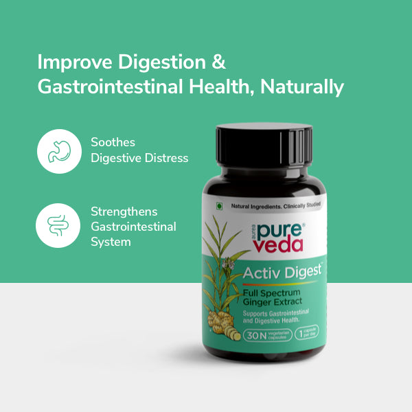 Activ Digest naturally soothes digestive distress, gas, bloating, nausea, and more while holistically strengthening the gastrointestinal system.