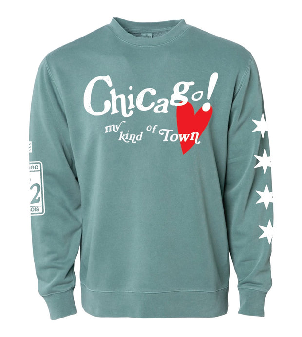 Limited Release - Chicago! My Kind of Town Crewneck - Valentine's Day + St. Patrick's Day