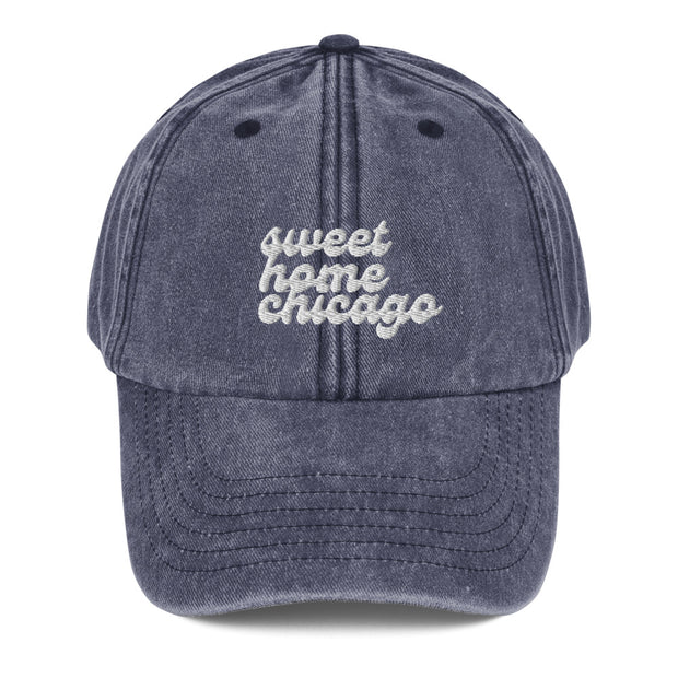 Sweet Home Chicago Vintage Hat