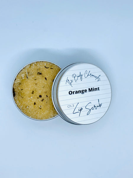 Lip Scrub - Orange Mint
