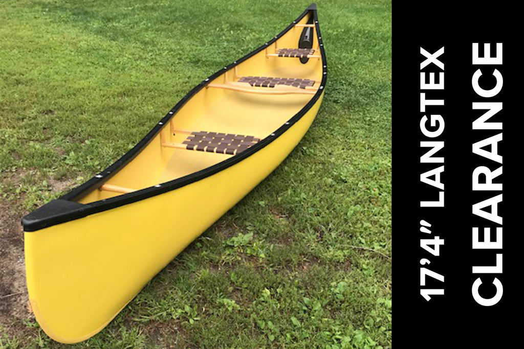 Langford 17'4″ LangTex with 3rd Seat – Used as Test Paddler Only!