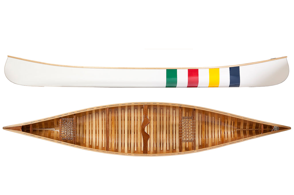 Langford Canoe - HBC Multi-stripe 16′