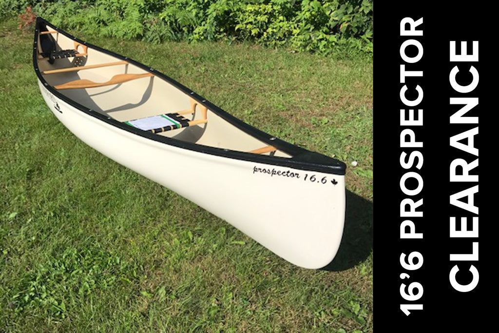 Langford 16'6 Prospector White LangTex – Perfect Cottage Canoe