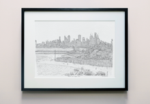 Load image into Gallery viewer, Melbourne from Brighton Beach, Print