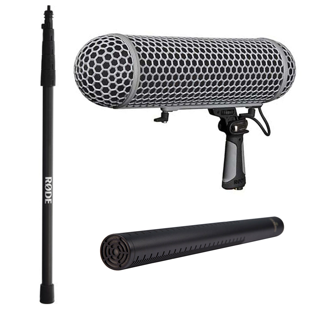Rode NTG-3 Shotgun Mic Kit