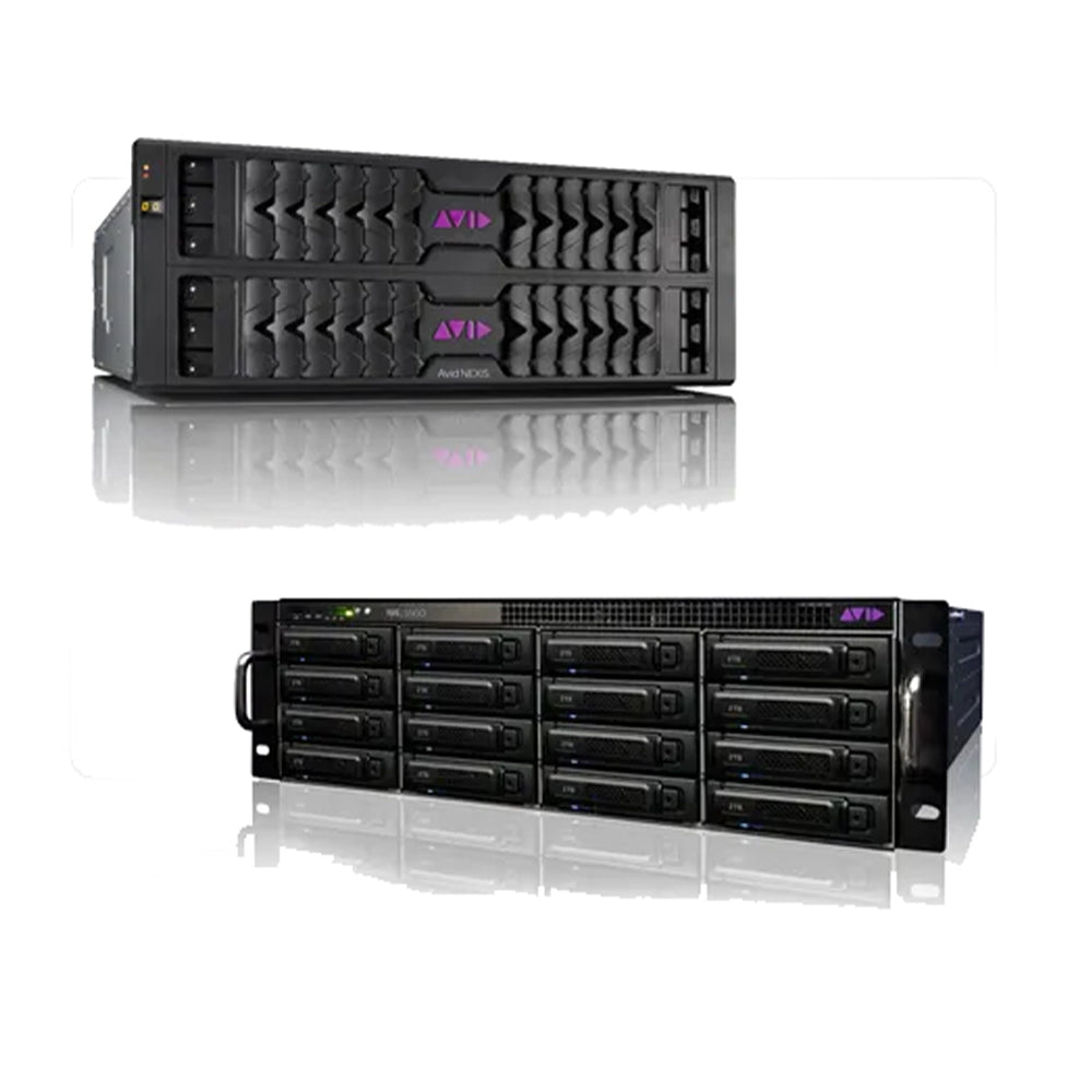 Edit Suite AVID or Adobe CC + NEXIS Storage and multi client network solution