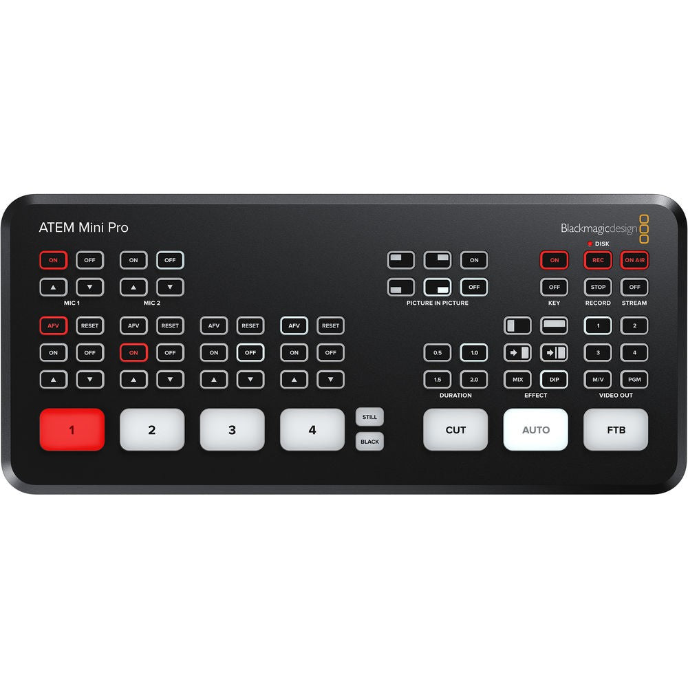 Blackmagic Design ATEM Mini PRO HDMI Live Streaming Camera Switcher